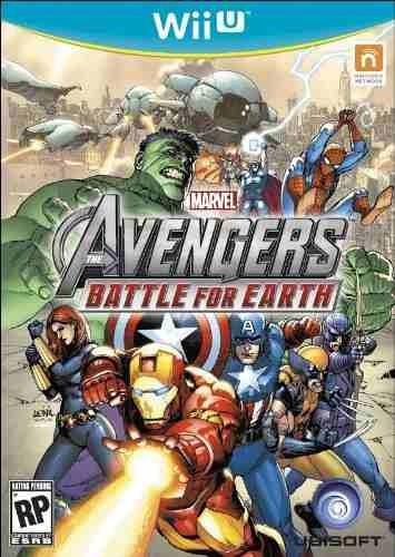 marvel avengers: battle for earth - nintendo wii u