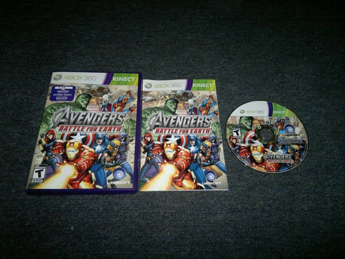 marvel avengers battle of earth completo para xbox 360