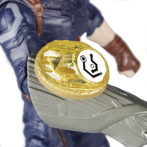 marvel avengers capitan america infinity war con piedra