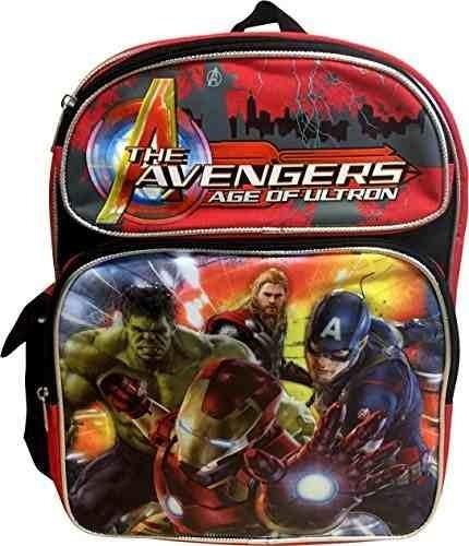 marvel avengers deluxe 3d en relieve bolso mochila escolar d