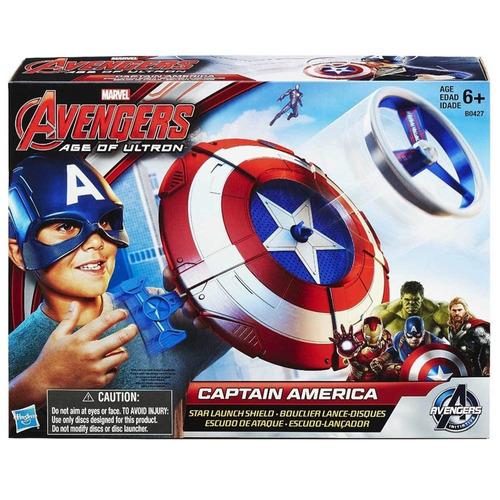 marvel-avengers escudo lançador capitão américa hasbro b0427