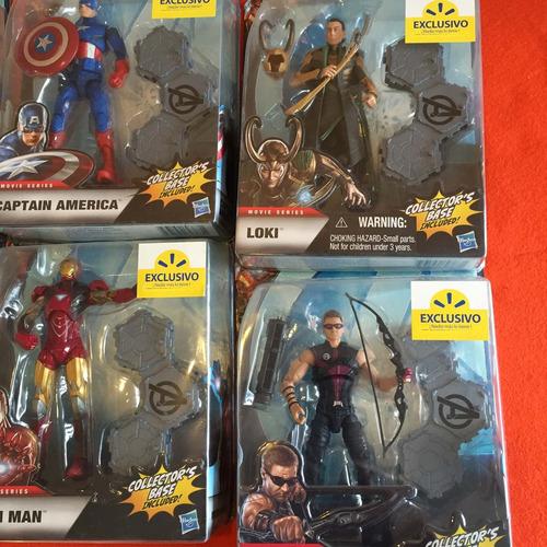 marvel avengers exclusivo walmart, hulk, ironman, thor, loki
