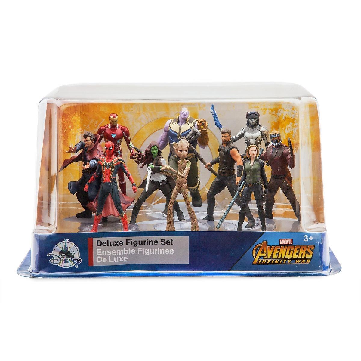 Marvel Avengers Infinity War Set 10 Figuras Disney Store