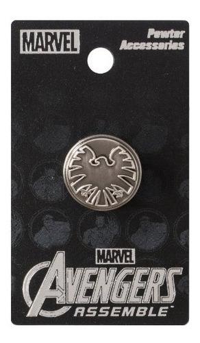 marvel avengers shield eagle logo pin de solapa