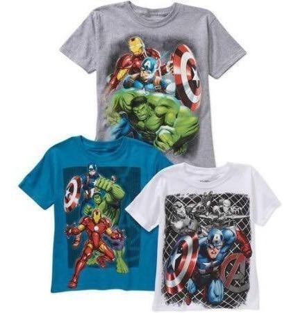 marvel avengers super heroes polos originales