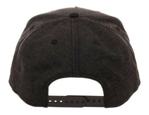 Black Panther Logo Black Snapback Hat Black