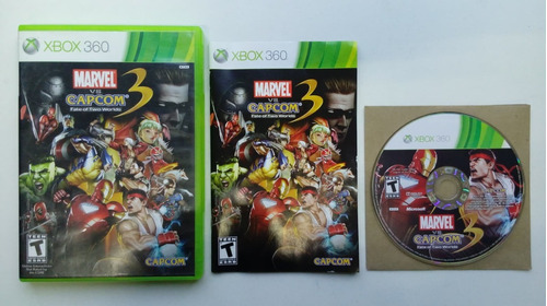 marvel capcom xbox 360
