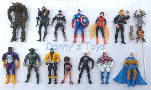 marvel capitan america figuras legends select y universe