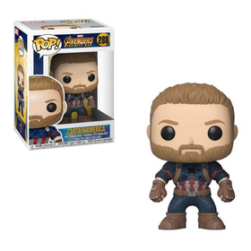 Marvel Capitan America Infinity War Funko Pop! #288 Om1