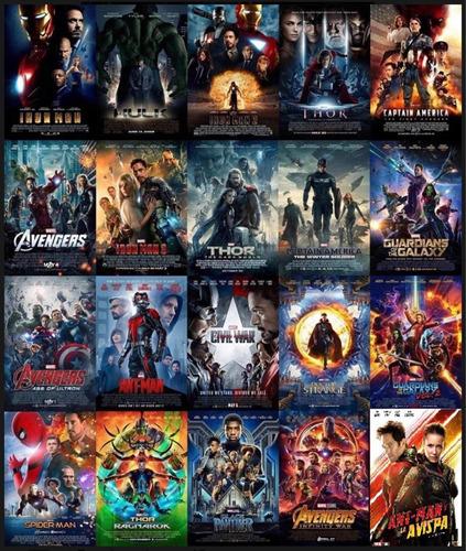 marvel colección 20 dvd mejor calidad