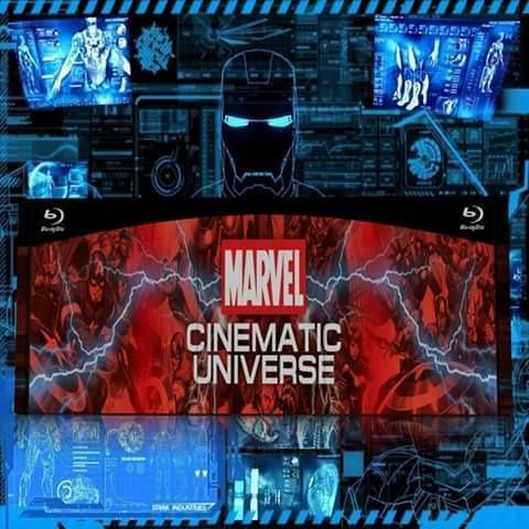 marvel colección películas blu-ray - mundo cinematográfico
