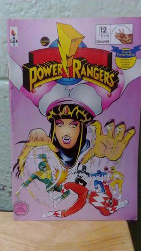 marvel comic power rangers en español # 12 editorial ejea