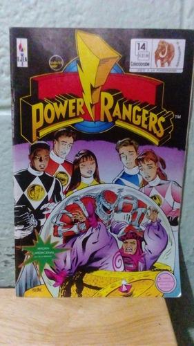 marvel comic power rangers en español # 14 editorial ejea