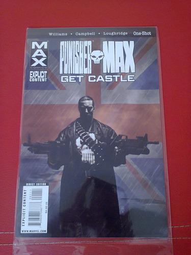 marvel comic punisher 8ta serie completa inglés 1ra edición