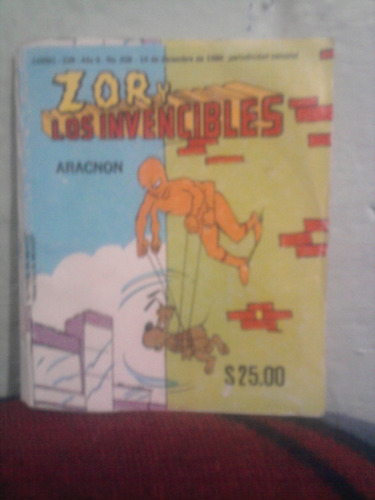 marvel comic vintage zor y los invencibles aracnon spiderman