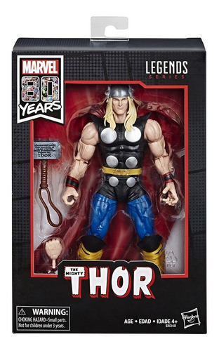 marvel comics 80th anniversary marvel legends thor hasbro