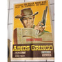 Cartel Póster Cine Original Adiós Gringo