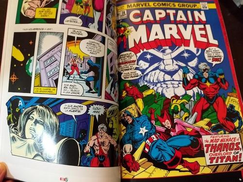 marvel comics avengers vs thanos saga full tomo latino
