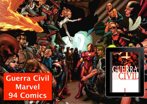 marvel comics civil