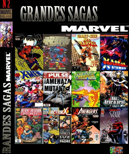 marvel comics digitales sagas completas