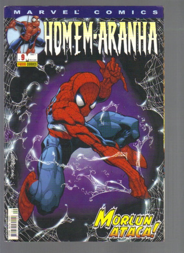 marvel comics homem-aranha nº 9 - panini comics