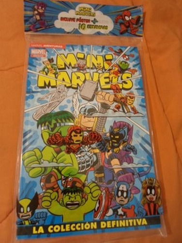 marvel comics infantiles mini marvel tomo completo