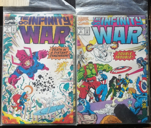 marvel cómics infinity war 3 y 4