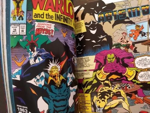 marvel comics infinity war consecuencias tomo latino100000