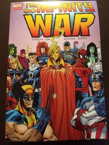 marvel comics infinity war tomo latino 110000