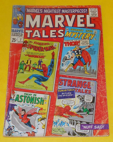 marvel comics marvel tales spider-man thor fantastic four