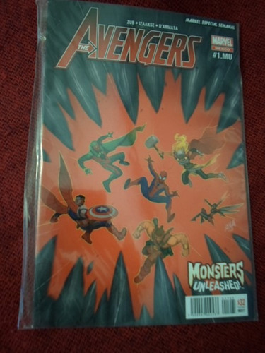 marvel comics monster unleashed latino evento central 7 nros