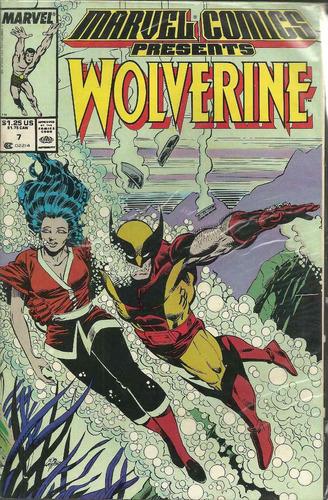 marvel comics presents wolverine 07 - bonellihq cx391 g18
