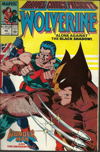 marvel comics presents wolverine 42 - bonellihq cx413 h18