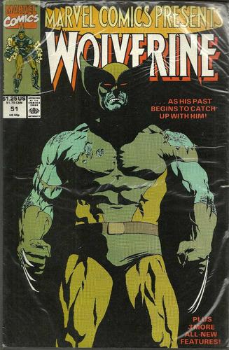 marvel comics presents wolverine 51 - bonellihq cx391 g18
