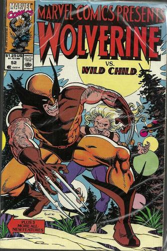 marvel comics presents wolverine 52 - bonellihq cx391 g18