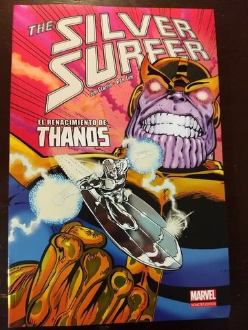 marvel comics silver surfer renace thanos full tomo latino