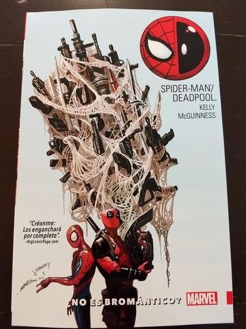marvel comics spiderman deadpool vol 1 bromantico latino