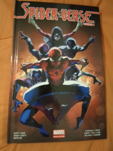 marvel comics spiderman spider verse tomo 1 tapa dura latino