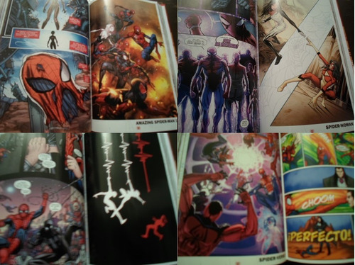 marvel comics spiderman spider verse tomo 2 tapa dura latino