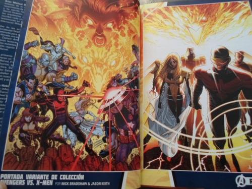 marvel comics tapa dura avengers vs xmen completo latino