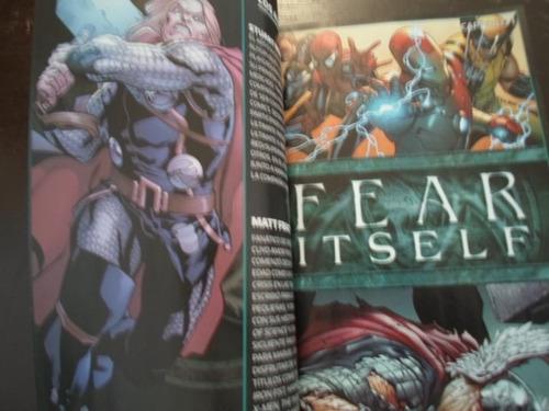 marvel comics thor fear itself latino super tomo coleccion