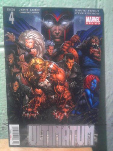 marvel comics ultimatum número 2 spiderman hombres x