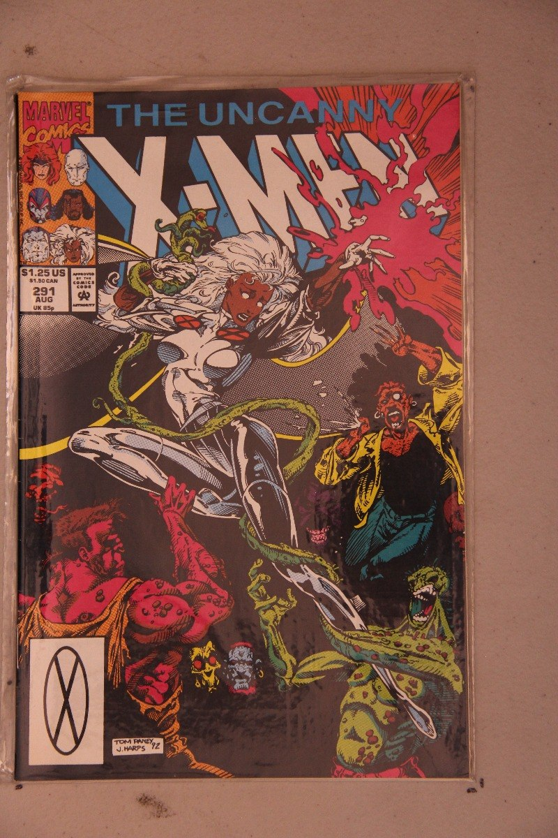 UNCANNY X-MEN 291...NM-...1992...Tom Raney...Callisto Returns!
