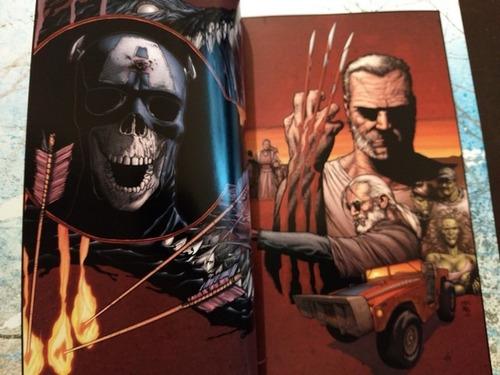 marvel comics wolverine old man logan latino tomo