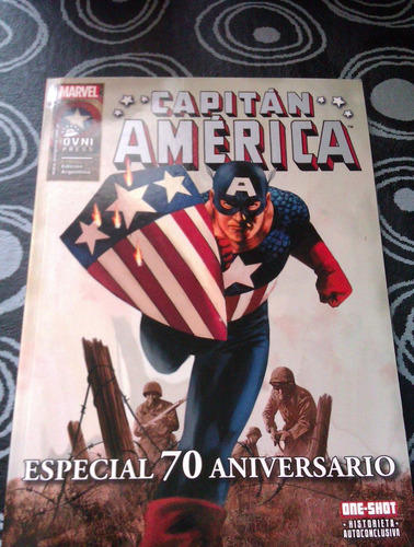 marvel & dc - superman vs spiderman/ capitan america 70 años