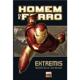 Marvel Deluxe - Homem De Ferro: Extremis - Panini (lacrado)