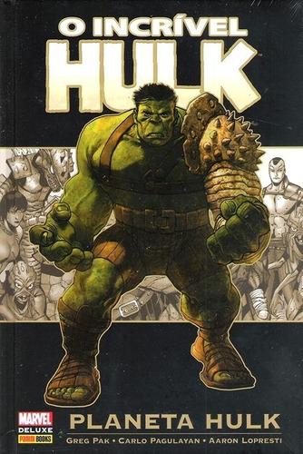 marvel deluxe: planeta hulk - panini (novo ee lacrado)