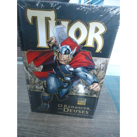Marvel Deluxe: Thor O Renascer Dos Deuses, Panini, Lacrada