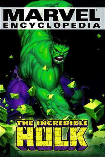 marvel encyclopedia hardcover vol. 3 the incredible hulk
