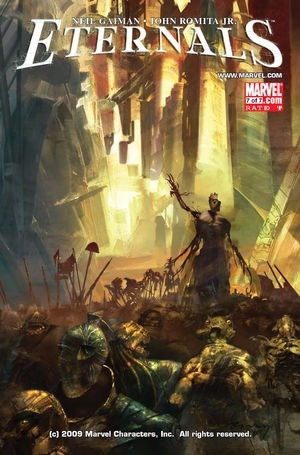 marvel eternals - volume 7